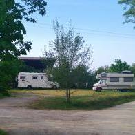 aire camping car Ste Christine